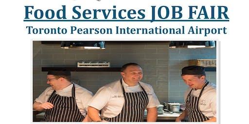 Food Services JOB FAIR  Toronto Pearson International Airport