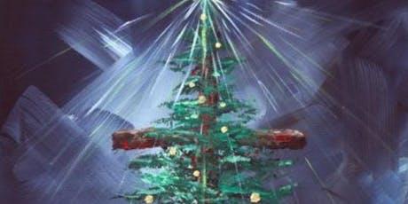 Christmas Tree paint night tickets