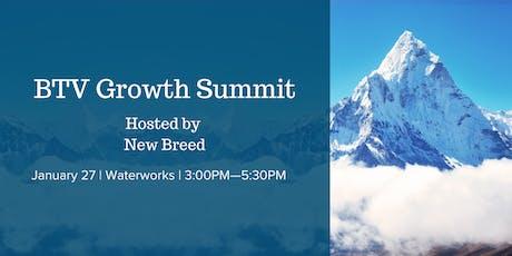 BTV Growth Summit tickets