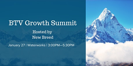 BTV Growth Summit tickets