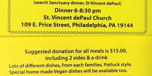 Sanctuary Dinner
