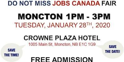 Moncton Job Fair – January 28th, 2019