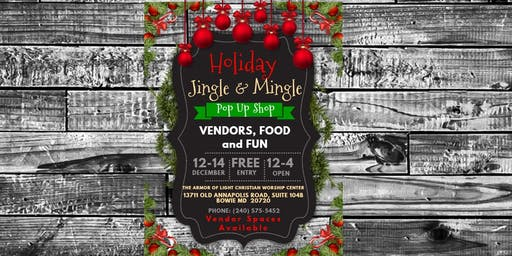 Holiday Jingle and Mingle Pop-Up Shop