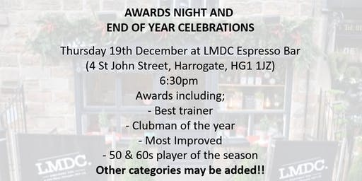 Harrogate Town AFC Walking Football Awards and Celebration 2019