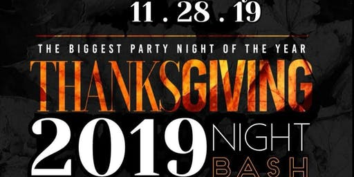 Thanksgiving Night Bash