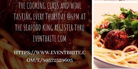 Cooking Lessons and Wine Tasting tickets