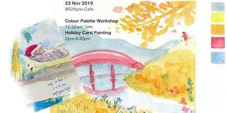 Watercolour Workshop: Developing Your Colour Palette tickets