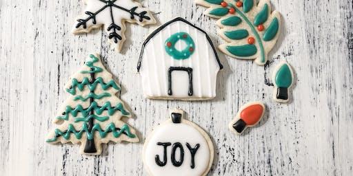 Farmhouse Christmas Cookie Decorating Class