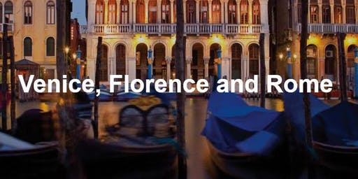 EF Tour Info Session for Venice, Florence, Rome