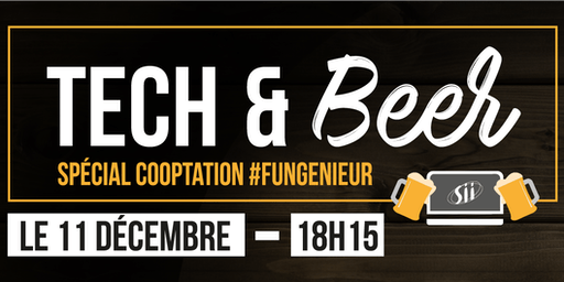 SII Tech & Beer (cooptation)