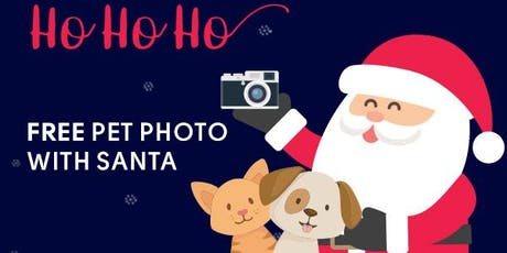 Pet Photos with Santa tickets