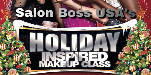 Holiday Inspired Makeup Class for Beginners- Intermediate