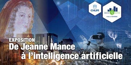 Du 19 au 21 novembre 2019 - De Jeanne Mance à l'intelligence artificielle billets