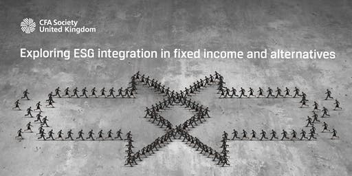 Exploring ESG integration in fixed income and alternatives
