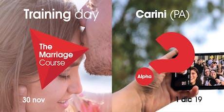 Training The Marriage Course e training Alpha, Carini (PA) // 30 nov - 1 dic 2019 biglietti