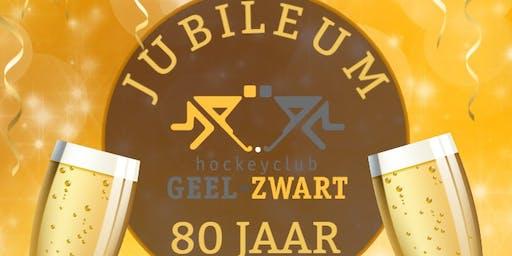 Jubileumfeest Geel-Zwart
