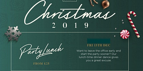 Festive Party Lunch- 13th December tickets