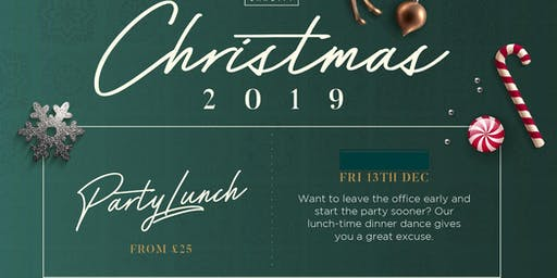 Festive Party Lunch- 13th December