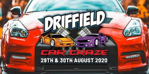 Driffield Car Craze (Public Camping Tickets)