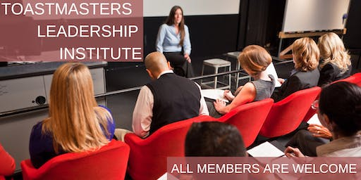 Toastmasters Leadership Institute (TLI) Columbus December 14 2019