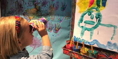 Free Trial Handprints Art Class for Toddlers & Preschoolers, Tuesday, December 10, 9am