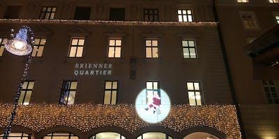 Der kletternde Nikolaus im Brienner Quartier