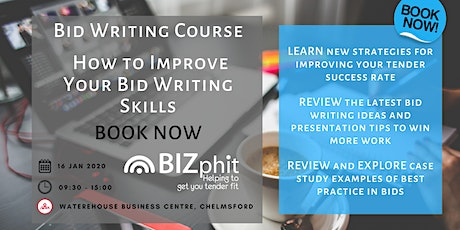 Bid Writing Course - How to Improve your Bid Writing Skills tickets