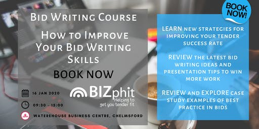 Bid Writing Course - How to Improve your Bid Writing Skills