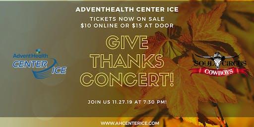 Give Thanks Concert - Soul Circus Cowboys