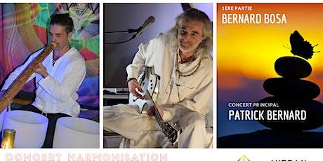 Concert d'Harmonisation du Cœur et de l'Âme | Patrick Bernard et Prah-Ladji Bernard Bosa   billets