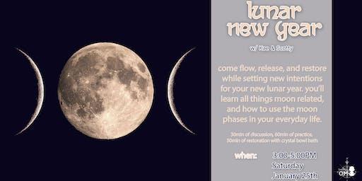 Lunar New Moon - Yoga Workshop