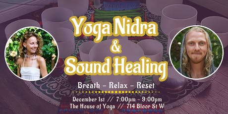 Yoga Nidra & Sound Healing tickets