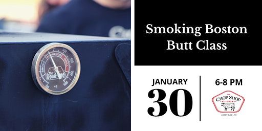 Smoking Boston Butt