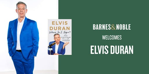 Elvis Duran at Barnes & Noble West Des Moines