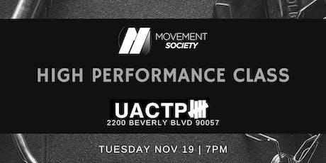 High Performance Class @ UACTP tickets