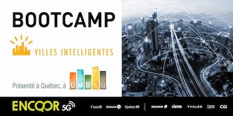 Bootcamp 5G et Villes Intelligentes billets