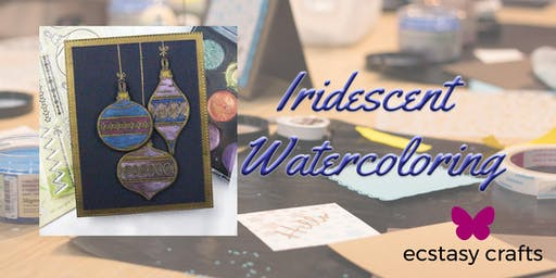Iridescent Watercoloring
