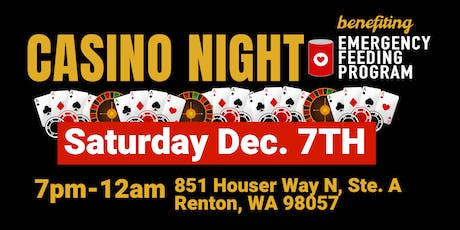 Casino Night benefiting The Emergency Feeding Program tickets