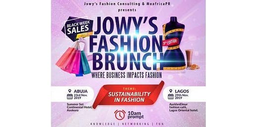 Jowy's Fashion Brunch and Black Weekend Sales Party