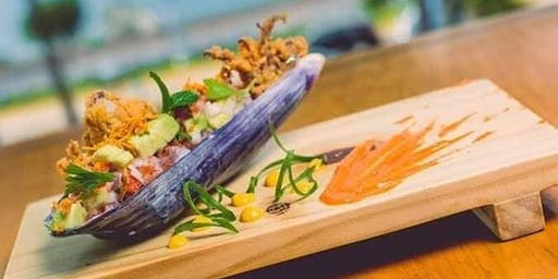 Jonathan Guardia in cafe LIMA! Peruvian flavors in a new menu