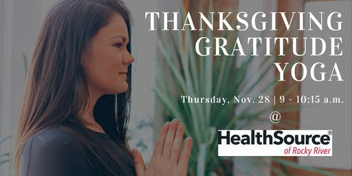 Thanksgiving Gratitude Flow
