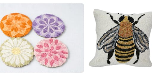 Finishing Techniques for Hooked Rugs, Coasters, & Pillows