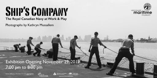 Ship's Company Exhibition Opening