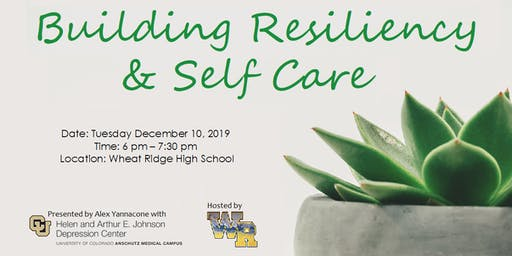 WR Education Night: Self Care and Resiliency