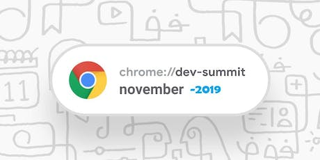 Google Chrome Dev Summit 2019 - Streaming Sessions tickets