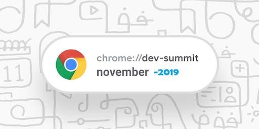 Google Chrome Dev Summit 2019 - Streaming Sessions