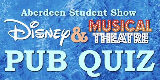 Disney and Musical Theatre Pub Quiz