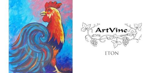 ArtVine, Sip & Paint in Eton, 22nd January 2020
