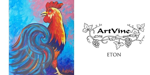 ArtVine, Sip & Paint in Eton, 22nd January 2020