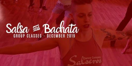 Salsa & Bachata Classes - December 2019